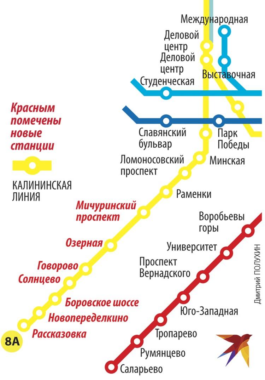 Новые станции