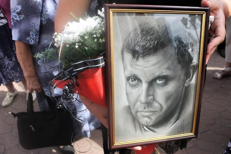 Еще при жизни Главы ДНР девушка дала обещание, что нарисует его портрет