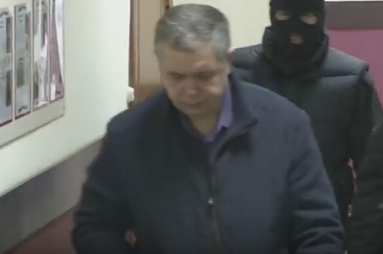 Задержание Александра Мамонтова. Фото: кадр видео СК