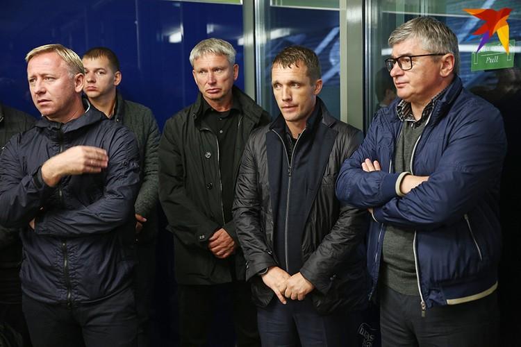 Приехали проститься с Анатолием Капским Виктор Гончаренко и Александр Ермакович.