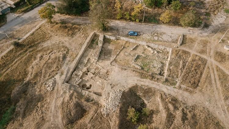 Тиритака. Раскоп XXVII в западной части. Фото: пресс-служба КФУ