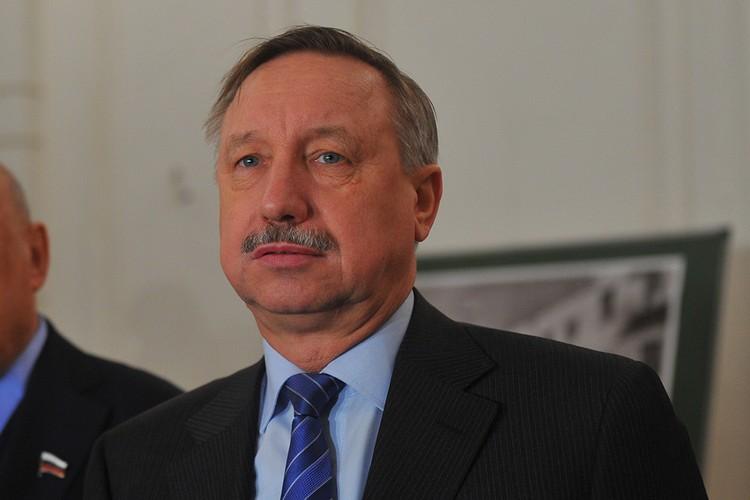 Александр Беглов стал врио губернатора