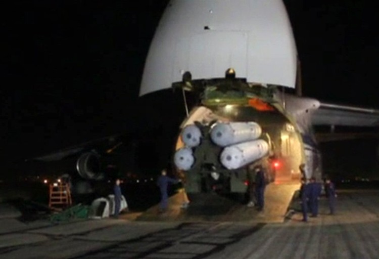 С-300 уже прибыли в Сирию
