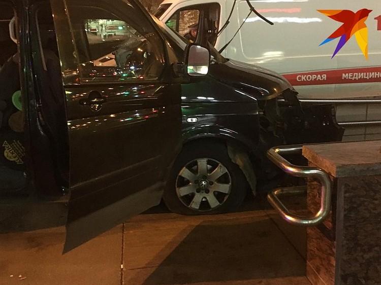 ДТП случилось на Варшавском шоссе в Москве