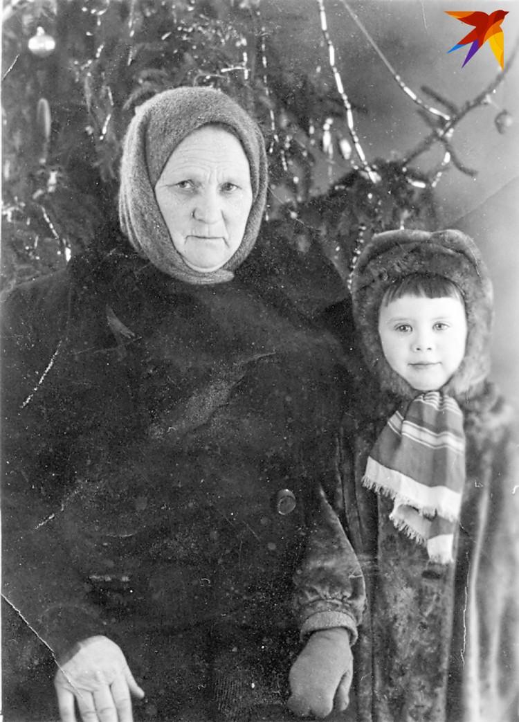 Татьяна Пугина с внучкой Татьяной Сушиной.