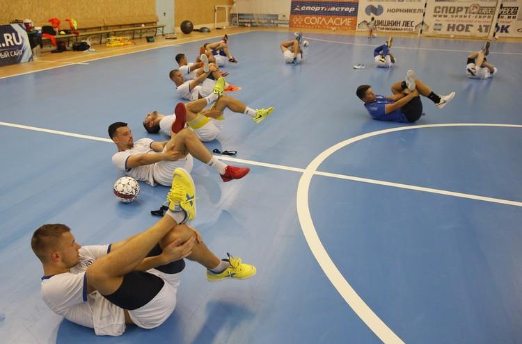 «Динамо» пока живет и тренируется в Москве, однако планирует переехать в Самару. Фото: МФК «Динамо» Самара