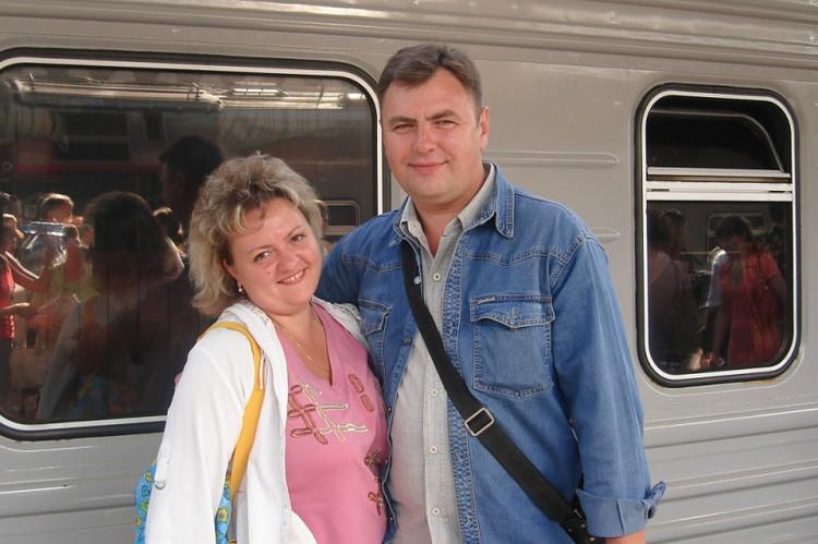 Юлия всегда была готова ехать за любимым хоть на край света