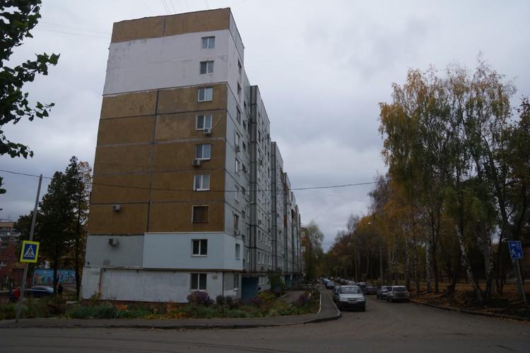 Дом, где живет Лина Сторожева со своей семьей