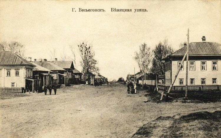 Старинный Весьегонск. Часть домов из него удалось перенести