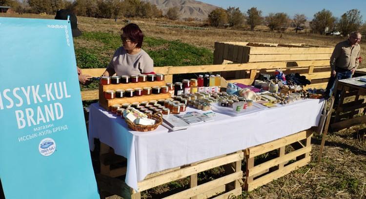 В мероприятии приняли участие местные производители.