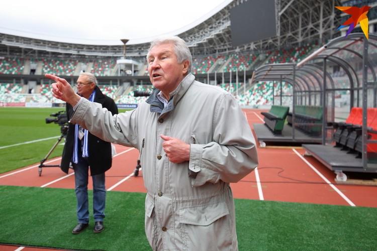 """Эдуард Малофеев: """"Важно представлять и внушать футболистам – для кого они играют, кого должны всегда любить и у кого всегда будут в долгу, как у родителей. Это дорогие болельщики!"""""""