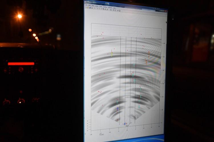 """Так """"видит"""" объекты на дороге радар, о создании которого объявила компания Cognitive Technologies"""