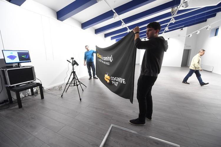 Эксперимент: разворачиваем перед лидаром рекламный баннер-растяжку из обычной искусственной ткани, которая по своим свойствам близка к дождю или снегу
