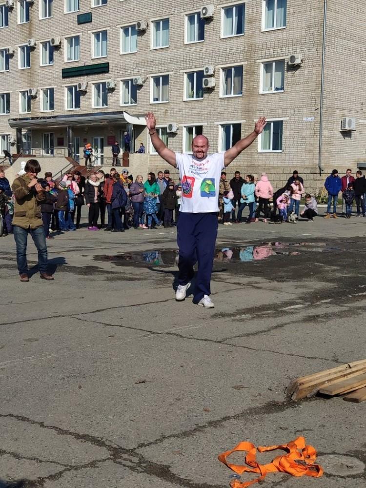 Представители книги рекордов Гиннесса уже знают об установленном рекорде. Фото: Иван Савкин