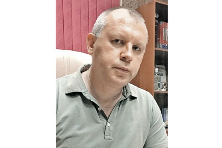 Руководитель «РСБ-Групп» Олег Криницын. Фото: ЧВК «РСБ-Групп»