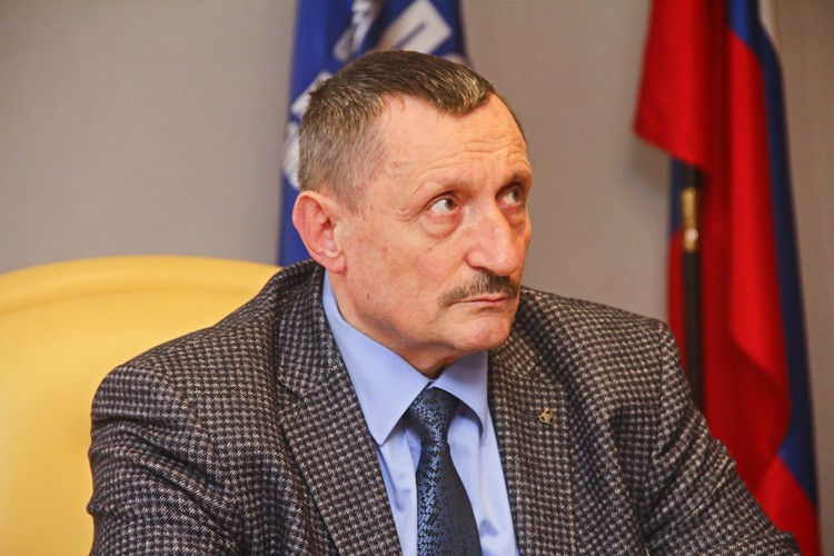 Генеральный директор КГУП «Примтеплоэнерго» Анатолий Попов
