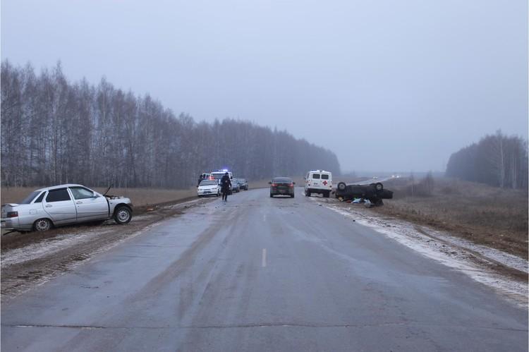 На территории Башкирии произошло более ста аварий
