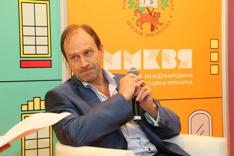 Внук детского писателя Николая Носова, тоже детский автор и фотограф Игорь Носов. Фото: Личный архив