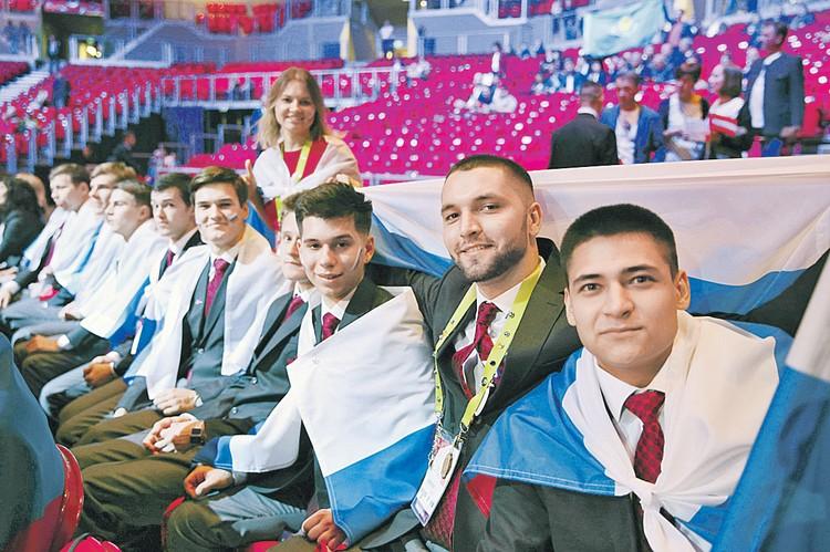 29 сентября 2018 года. На турнире Euroskills национальная молодежная сборная России впервые завоевала наибольшее количество золотых наград. Фото: worldskills.ru