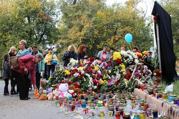 В Керчи увековечат память погибших.