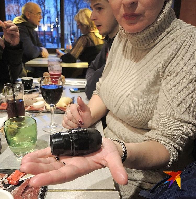Сувенир из Парижа: использованная полицейскими резиновая пуля, найденная в нескольких шагах от Лувра.
