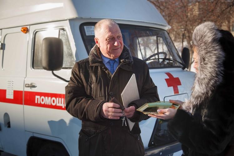 Автомобиль заказали на заводе «Восток УАЗ»
