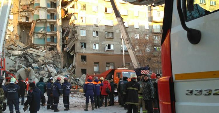 Взрыв прогремел в Магнитогорске 31 декабря примерно в 6 часов утра.