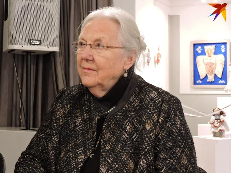 Ее первое знакомство с русскими иконами произошло во время медового месяца в Париже в 1967 году