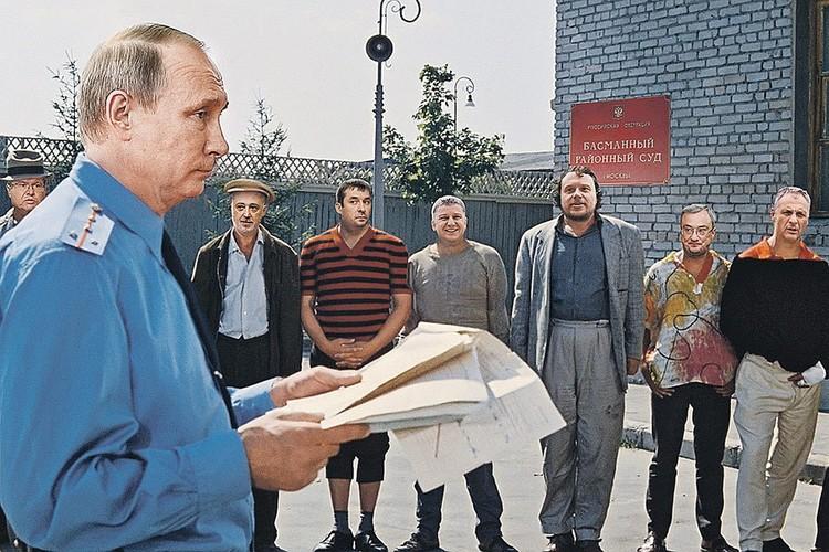 Этот коллаж Андрей Будаев рисовал к Международному дню борьбы с коррупцией Коллаж: Андрей БУДАЕВ
