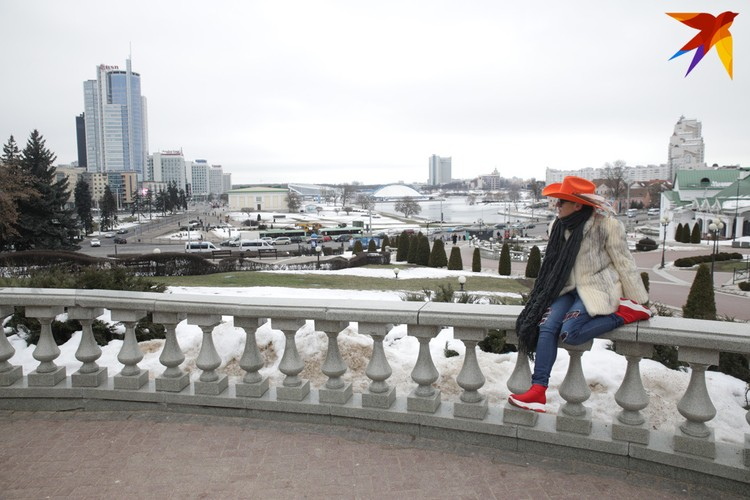 Минск Эллина увидела интеллектуальным европейским городом