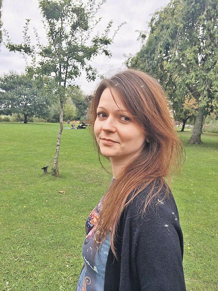 Дочка шпиона Юлия была отравлена вместе с отцом.