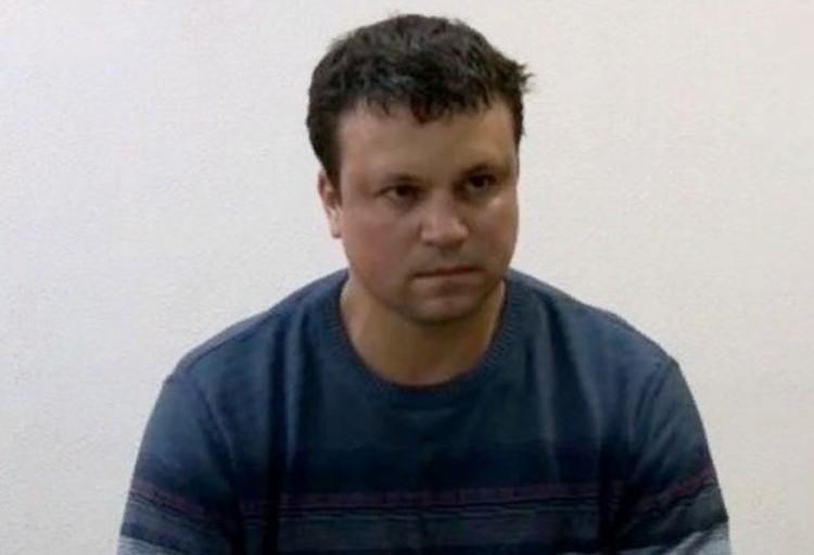 Стогний на допросе в ФСБ. Фото: оперативная съемка