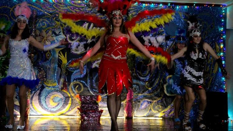 Бразильский карнавал в колонии