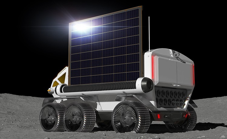 Тойота разрабатывает луноход-беспилотник