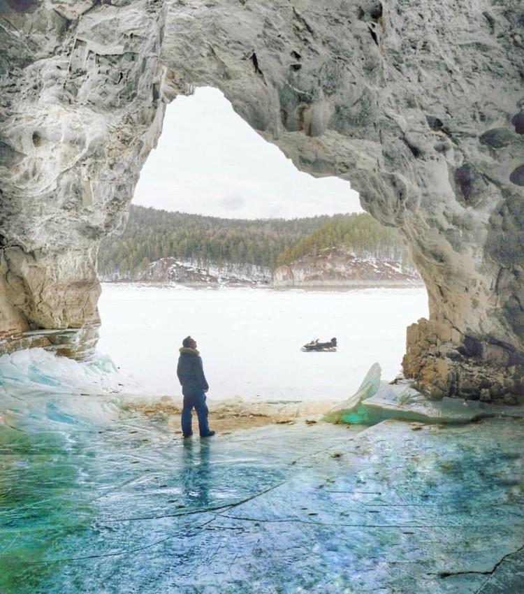 Вот такими увидел сказочные гроты Сибири фотограф Стефано Ферро. Фото: Follow Up Siberia