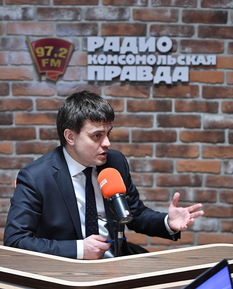 Михаил Котюков в прямом эфире