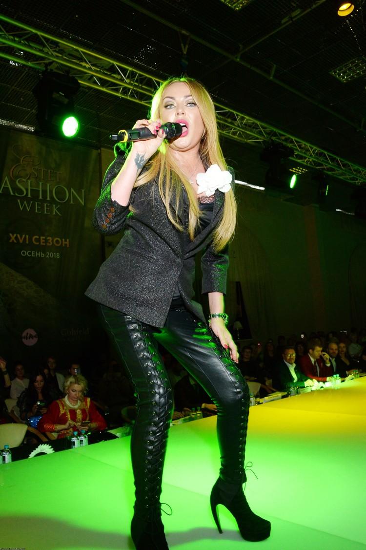 Юлия Началова на Неделе ювелирной моды ESTET. 18 ноября 2018