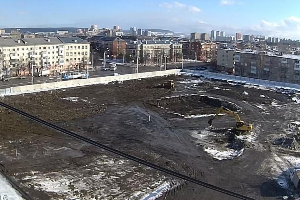 """""""Зимнюю вишню"""" снесли в январе 2018 года. На ее месте к следующему сентябрю должен появиться сквер"""