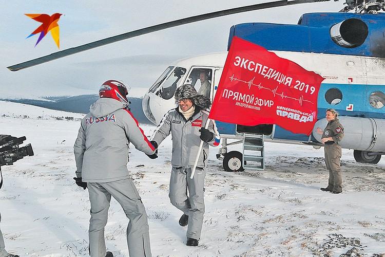 Вместе с прокурорскими работниками участвовали в экспедиции также журналисты «Комсомольской правды», телеканала «Россия 1» и программы «Андрей Малахов. Прямой эфир»
