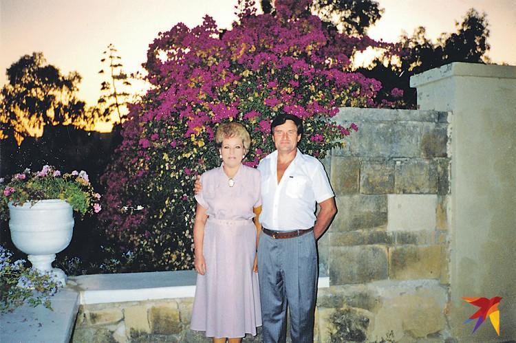 С супругом Владимиром Васильевичем Матвиенко, Мальта (1990-е годы). Фото: из личного архива В. Матвиенко. Предоставлено специально для «КП». Публикуется впервые.