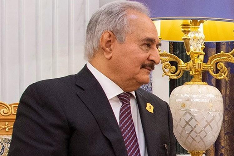 Ливийский генерал Халифа Хафтар.