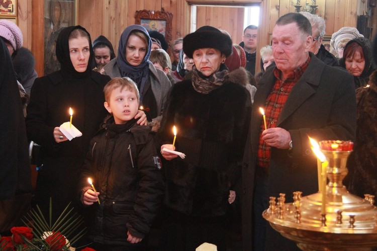 На похоронах Золотухина