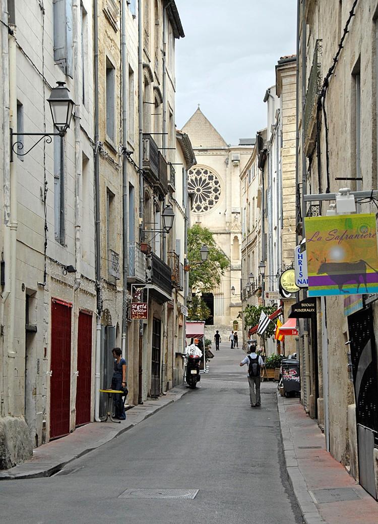 Монпелье – город на юге Франции, рядом со Средиземным морем