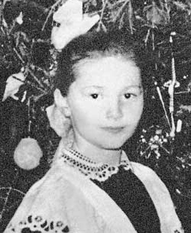 Алла Пугачева в 1961 году. Фото из личного архива