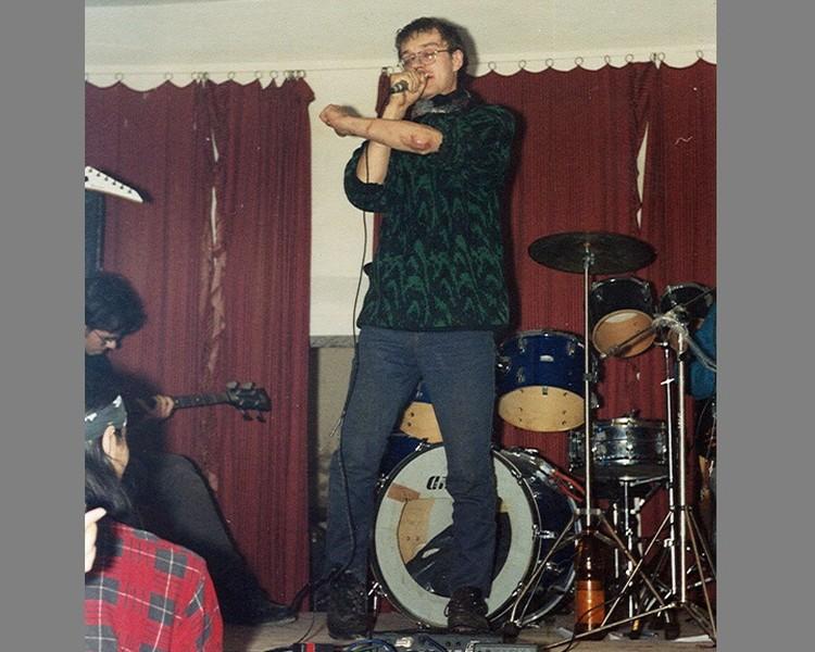 Усов во время выступления в Оренбурге