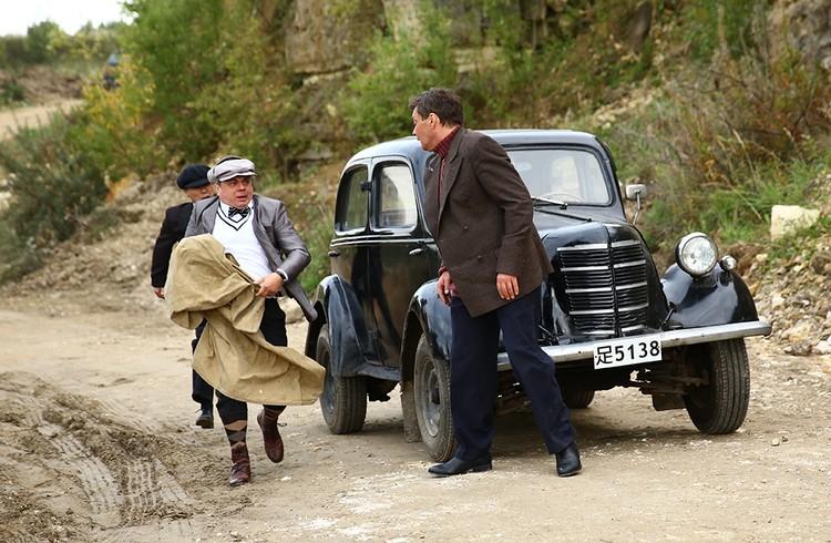Популярный актер вдруг появился в историческом сериале в образе немецкого связиста