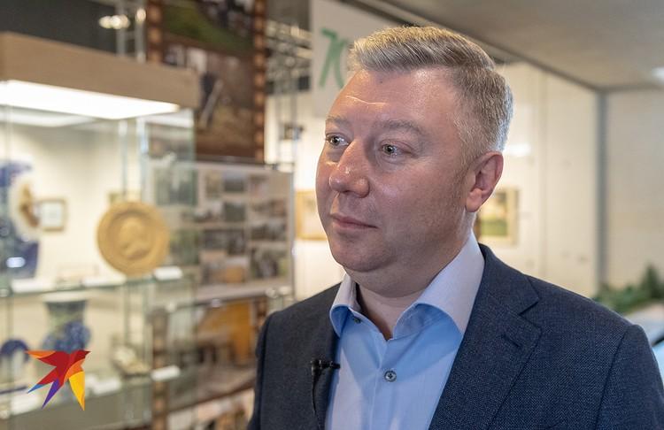 Директор Государственного исторического музея-заповедника «Горки Ленинские» Олег Хромов.