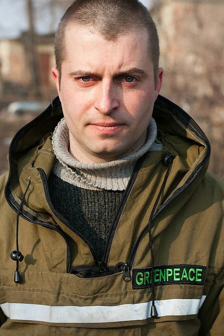 Григорий Куксин, руководитель противопожарной программы Гринпис России. Фото: Гринпис - Игорь Подгорный
