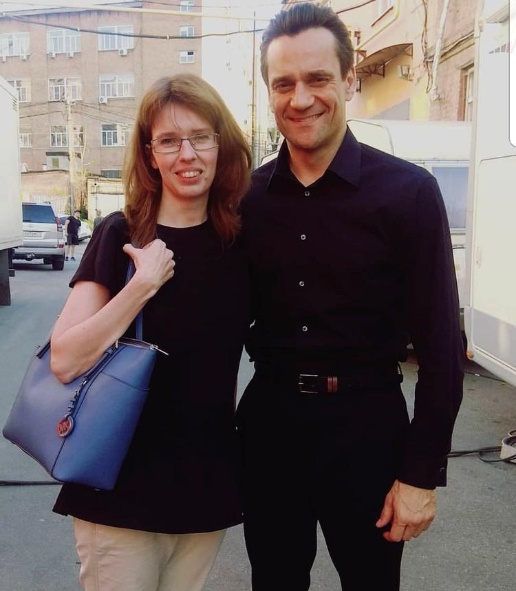 Ростовчанка Елена Выставкина и актёр Дмитрий Миллер