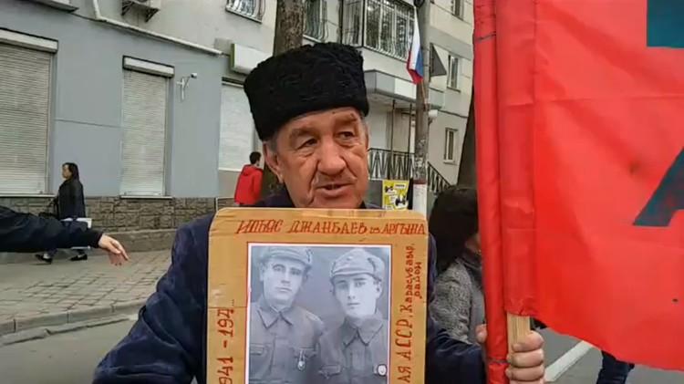 Ильяса Джанбаева назвали в честь дяди-героя